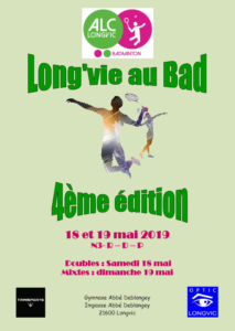 4è Long'Vie au Bad (21) @ Gymnase Deblangey