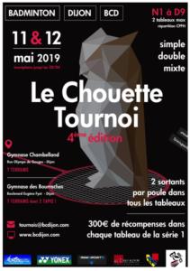 Chouette tournoi 2019